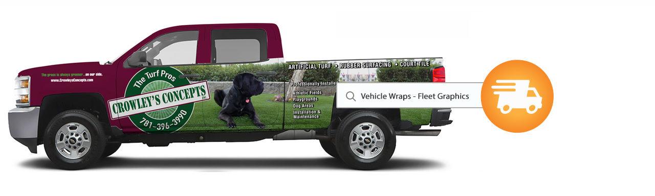 Fleet Graphics/ Vehicle Wraps